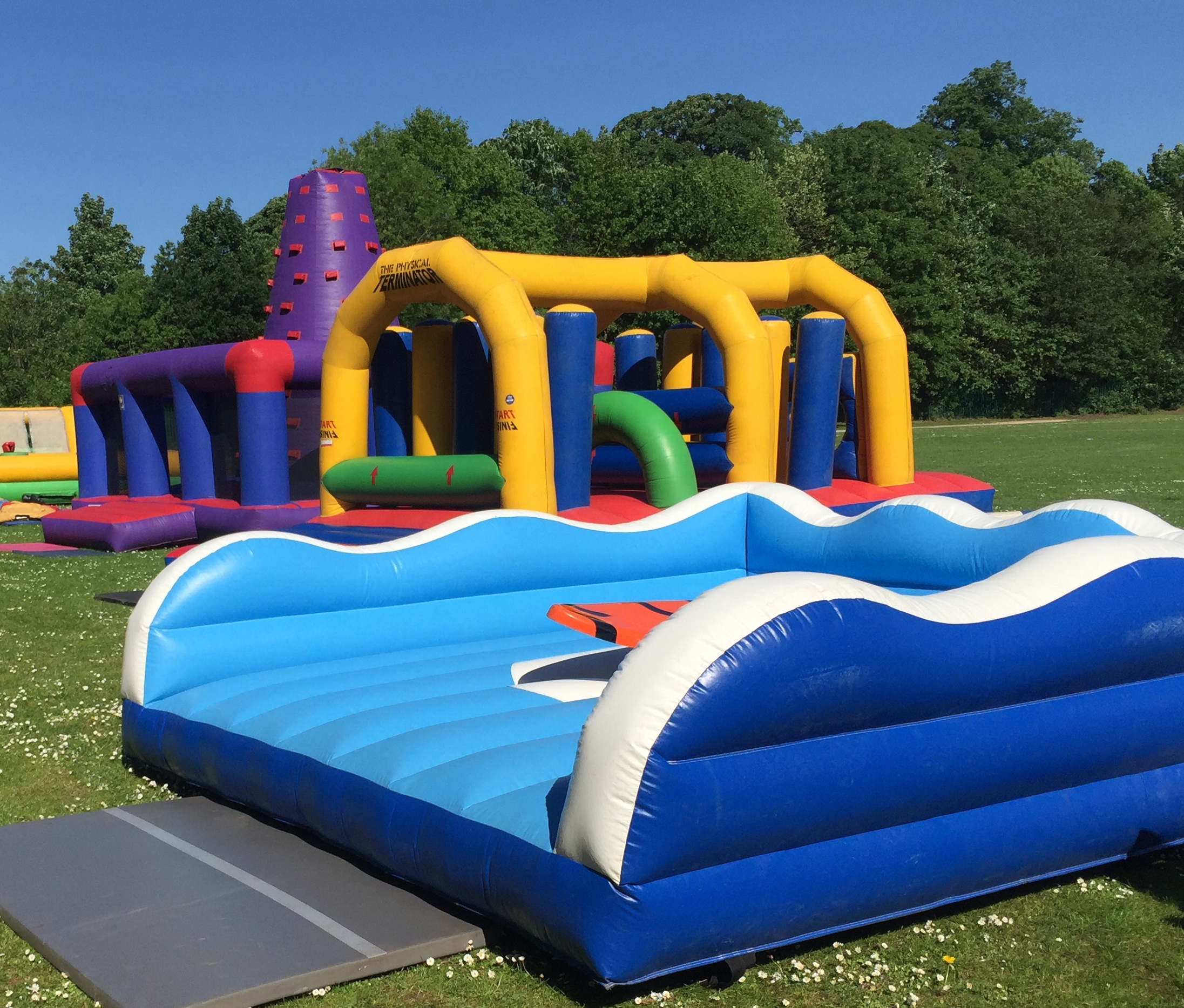 bouncy castle hire wythenshawe